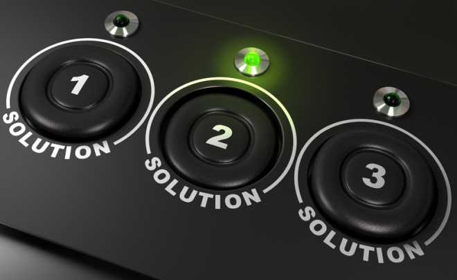 3 Solution Buttons