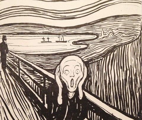 The Scream-Flickr-blackwhite